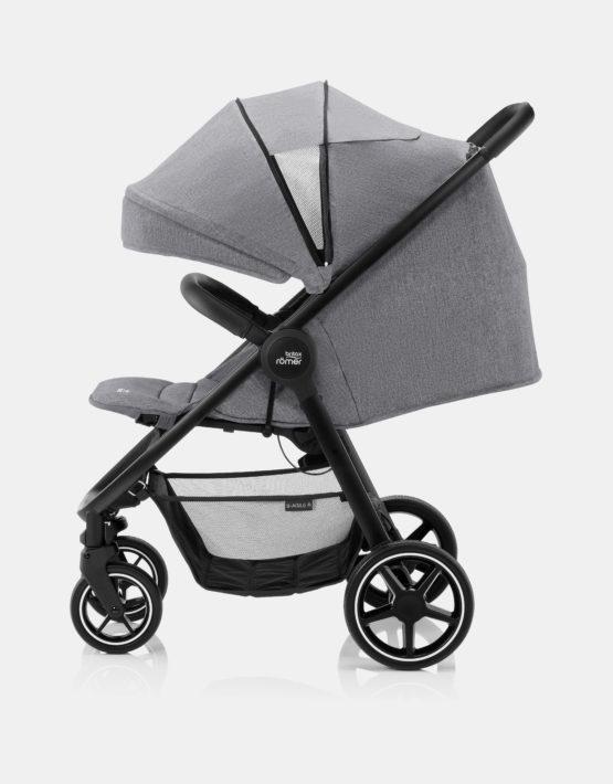 Britax Römer B-Agile R Elephant Grey - Black