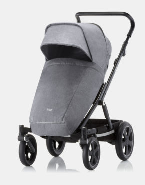 Britax Römer Go Big II Grey Melange - Black