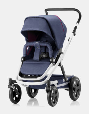 Britax Römer Go Big II Oxford Navy - White