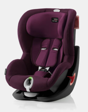 Britax Römer King II LS Burgundy Red