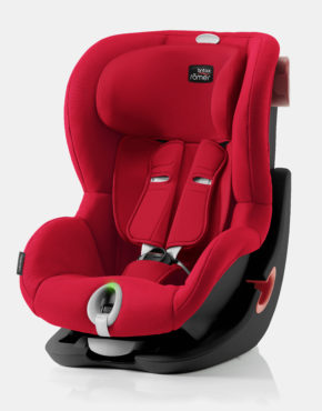 Britax Römer King II LS Fire Red
