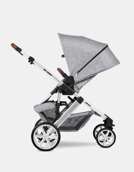 ABC Design Salsa 4 Graphite Grey 4in1 Kollektion 2021 + Cybex Cloud Z + Original ABC Zubehör + Base Z