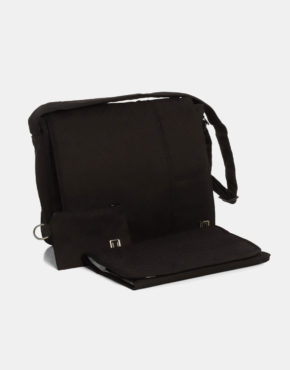 Moon Wickeltasche Black 201