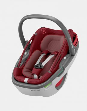Maxi-Cosi Coral Essential Red + Base Family Fix 3