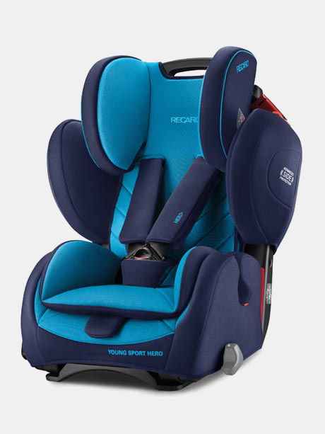 Recaro Young Sport Hero Xenon Blue 9-36kg