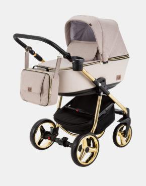 Adamex Reggio Special Edition Y847 Pastelbeige - Gold 3in1