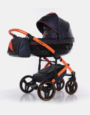 Junama Fluo II Blau Orange 03  3in1