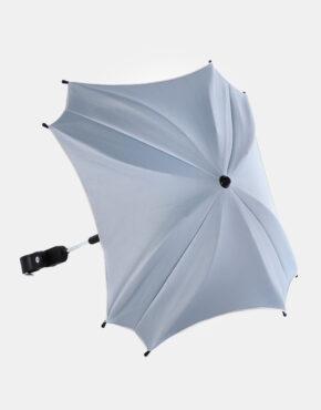 Junama Sonnenschutzschirm Ekoleder Kollektion Himmelblau - Grau