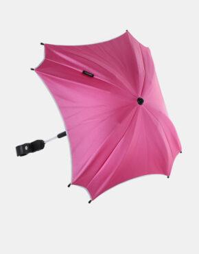 Junama Sonnenschutzschirm Ekoleder Kollektion Rosa - Grau