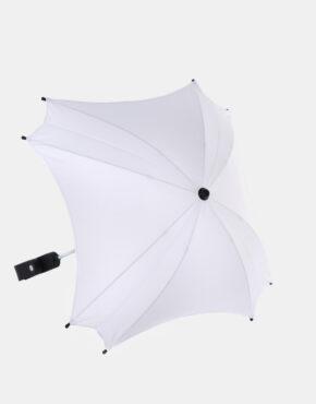 Junama Sonnenschutzschirm Ekoleder Kollektion Weiß