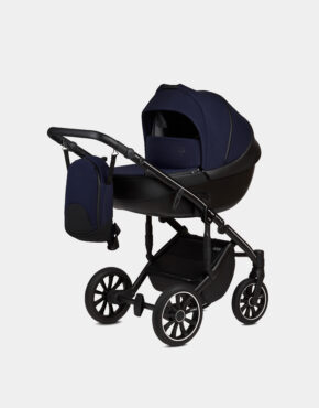 Anex M/Type Marineblau Sp29 Q Splash Kollektion 2020 3in1 + Cybex Aton M i-Size Navy Blue