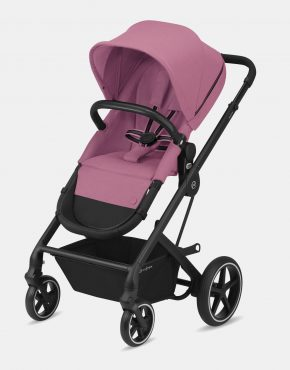 Cybex Balios S Lux Black Frame - Magnolia Pink 1in1