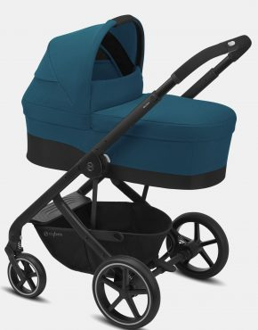Cybex Balios S LUX – 2in1 Black Frame River Blue 2in1