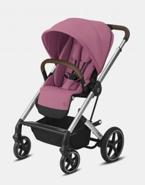 Cybex Balios S Lux Silver Frame - Magnolia Pink 1in1