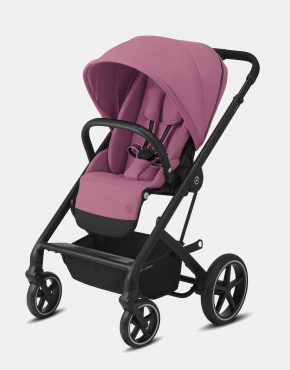 Cybex Balios S LUX Black Frame – Magnolia Pink 3in1