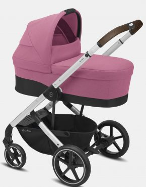 Cybex Balios S LUX Silver Frame – Magnolia Pink 4in1