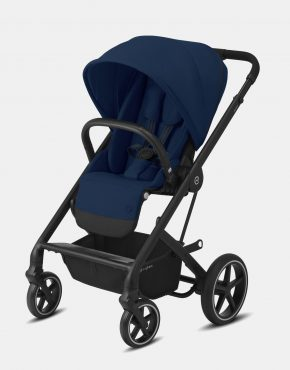 Cybex Balios S Lux Black Frame - Navy Blue 1in1