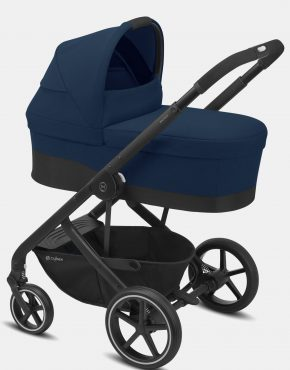 Cybex Balios S LUX – 2in1 Black Frame Navy Blue 2in1