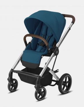 Cybex Balios S Lux Silver Frame - River Blue 1in1