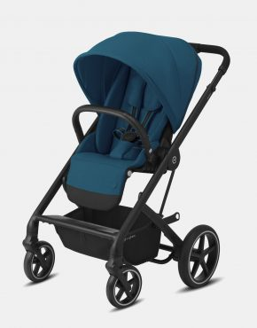 Cybex Balios S Lux Black Frame - River Blue 1in1