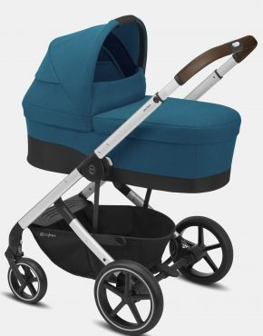 Cybex Balios S LUX Silver Frame – River Blue 4in1