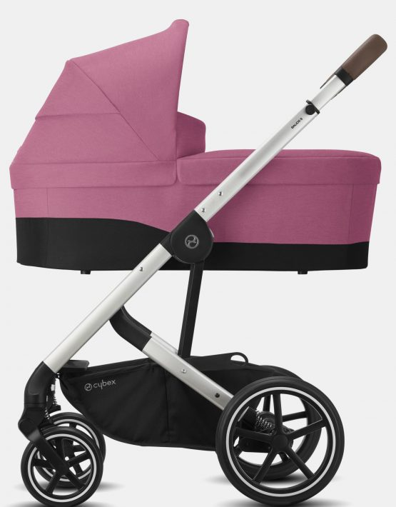 Cybex Balios S LUX – 2in1 Silver Frame Magnolia Pink 2in1