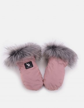 Cottonmoose HandMUFF Powder Pink Grey
