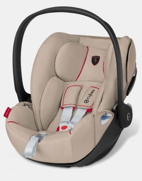 Cybex Cloud Z i-Size – Cybex for Scuderia Ferrari – Silver Grey 0-13kg + base Z
