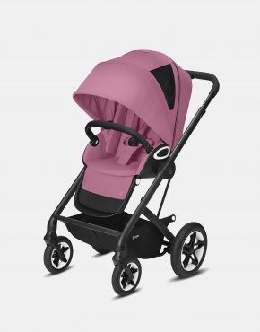 Cybex Talos S Lux Black Frame - Magnolia Pink 2in1