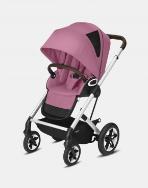 Cybex Talos S Lux Silver Frame - Magnolia Pink 2in1