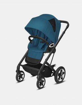 Cybex Talos S Lux Black Frame - River Blue 2in1