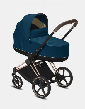 Cybex Priam Lux 2.0 2021 Rosegold – Mountain Blue 4in1