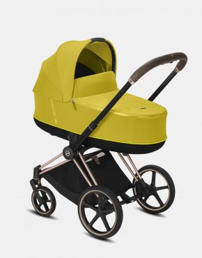 Cybex Priam Lux 2.0 2021 Rosegold – Mustard Yellow 4in1