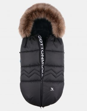 Cottonmoose Footmuff Combi Yukon Black