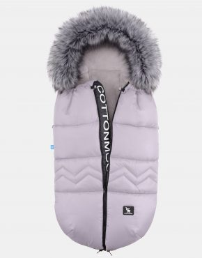 Cottonmoose Footmuff Combi Yukon Gray