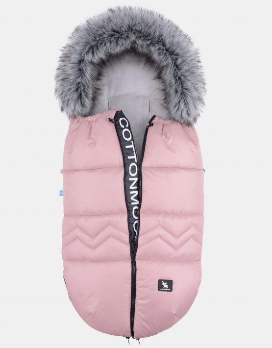 Cottonmoose Footmuff Moose North Powder Pink