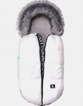 Cottonmoose Footmuff Combi Yukon White