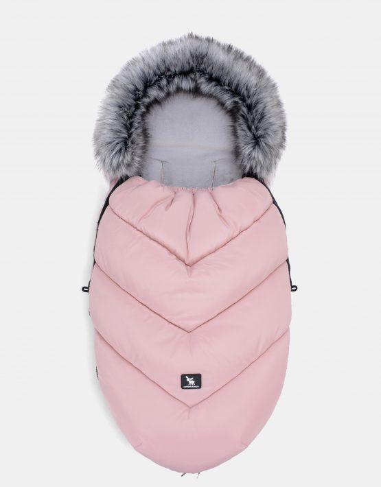 Cottonmoose Footmuff Moose Powder Pink