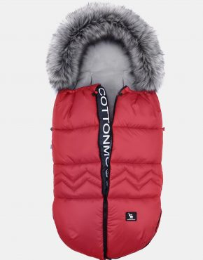 Cottonmoose Footmuff Moose North Yukon Red