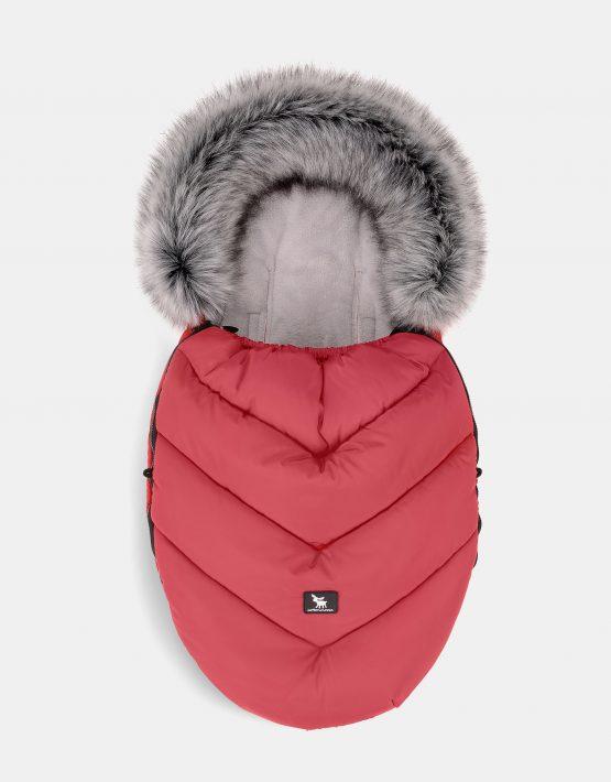 Cottonmoose Footmuff Mini Moose Red