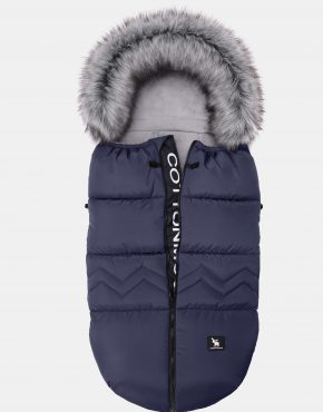 Cottonmoose Footmuff Combi Yukon Dark Blue