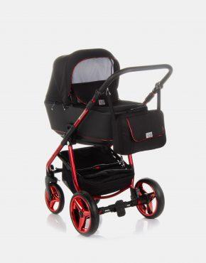 Adamex Reggio Special Edition Y300 Schwarz - Rot 2in1