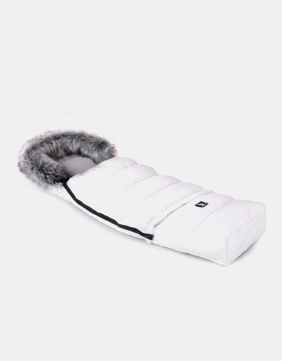 Cottonmoose Footmuff Combi White