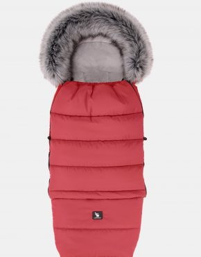 Cottonmoose Footmuff Combi Yukon Red