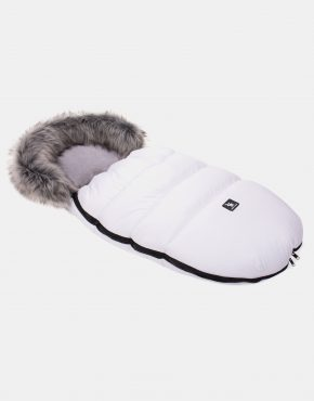 Cottonmoose Footmuff Moose Weiß - Grau