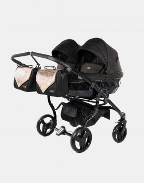 Junama Onyx Duo 02 Schwarz - Rose Gold 3in1