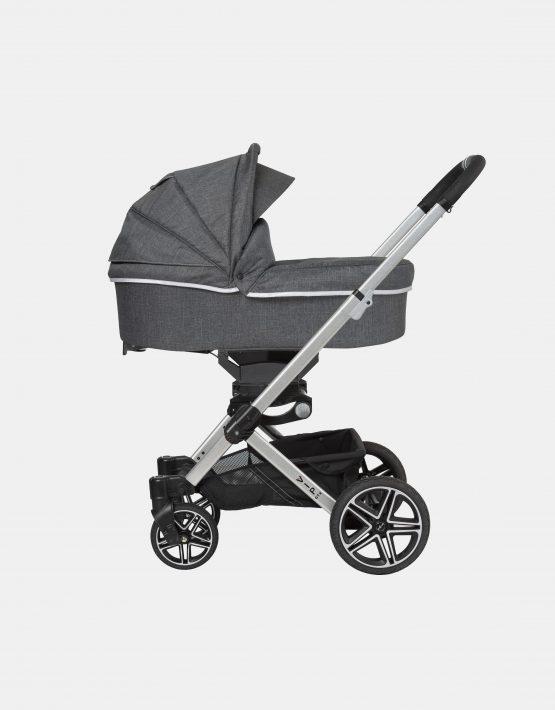 Hartan VIP GTX + Falttasche – Gestellfarbe Silber, Design 400 Kollektion 2021 2in1