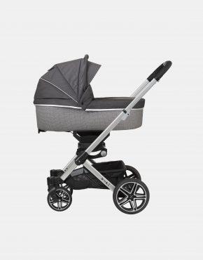 Hartan VIP GTX + Falttasche – Gestellfarbe Silber, Design 404 Kollektion 2021 2in1