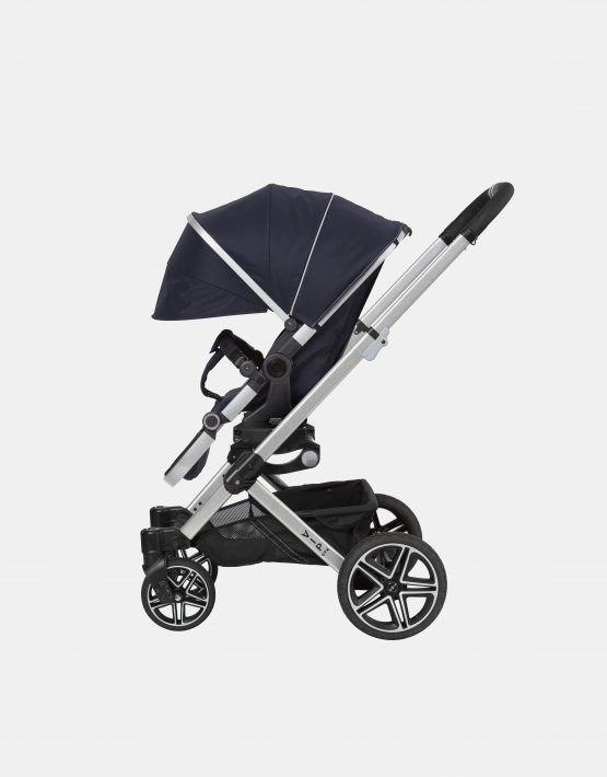 Hartan VIP GTX + Falttasche – Gestellfarbe Silber, Design 410 Kollektion 2021 2in1