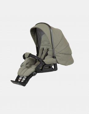 Hartan Topline S mit Softtasche – Gestellfarbe Platin, Design 401 Kollektion 2021 2in1